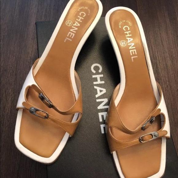 d7a7901d505c CHANEL Shoes - Authentic Chanel slides in a size 9 😍😍😍 love!